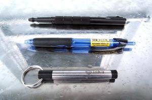 Vergleich Logging Stifte