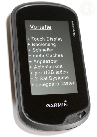 Garmin Oregon 6x0 Serie