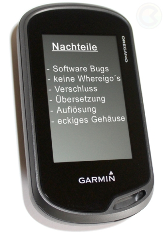 das garmin oregon 600 650 im geocaching alltag cache land. Black Bedroom Furniture Sets. Home Design Ideas