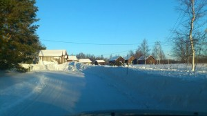 Finnland im Winter