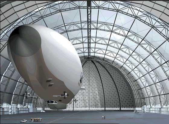 Cargolifter Werfthalle