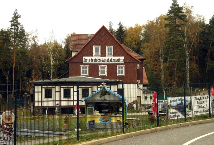 1. deutsche Autobahnraststätte