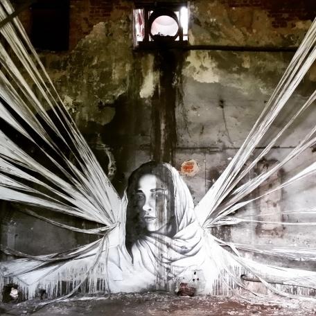 Grafiti als Skulptur